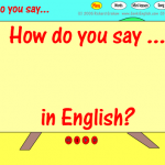 How Do You Say That In English?
