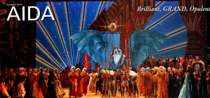 Staging of Aida